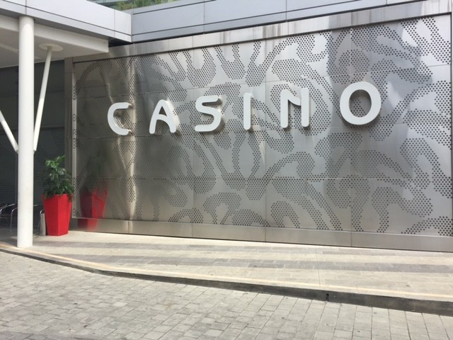 Many casinos can be found in Medellín