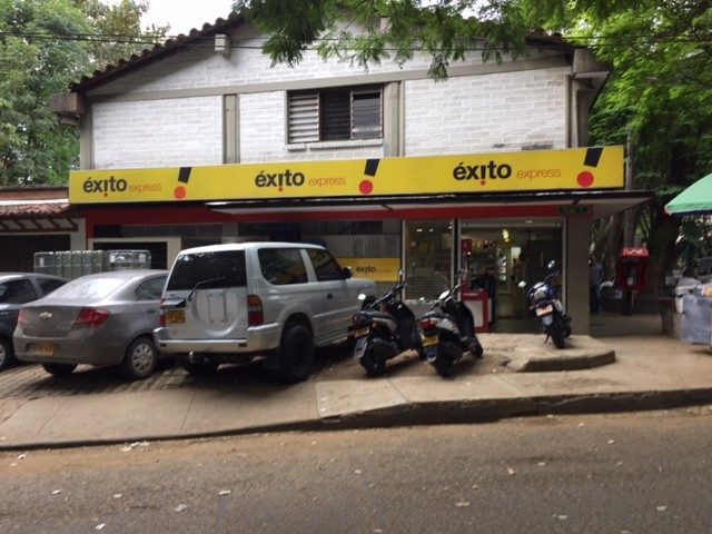 Exito is the number one supermarket chain in Medellín