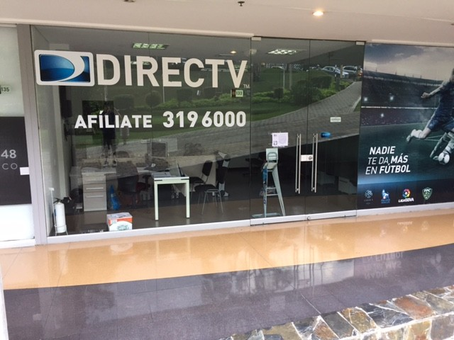 Direct TV is one option for expats in Medellín