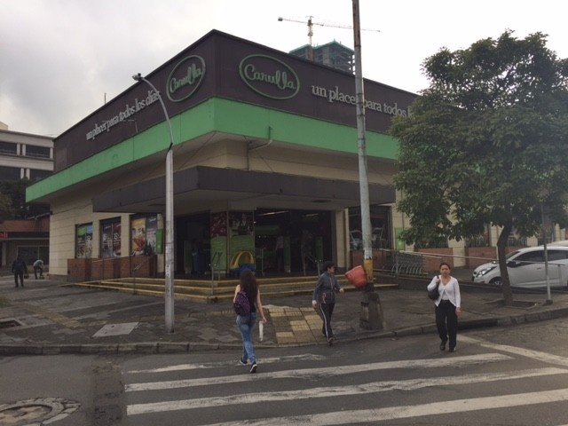 Carulla is popular supermarket with expats