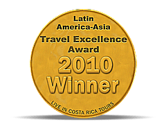Latin America-Asia Travel Excellence Award