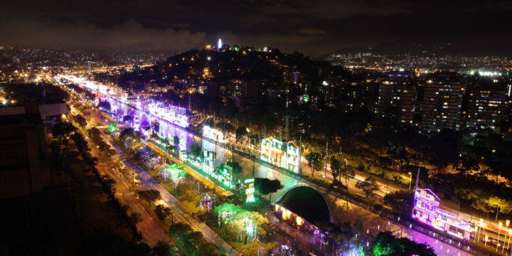 In Colombia – Annual Festival Of Lights