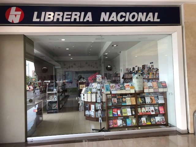 One of many bookstores where expats can find books in Medellín
