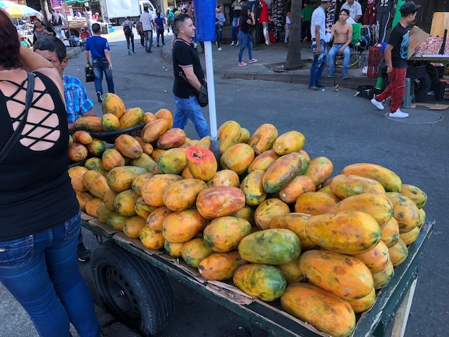 Papaya is just one of the tropical fruits available at bargain prices