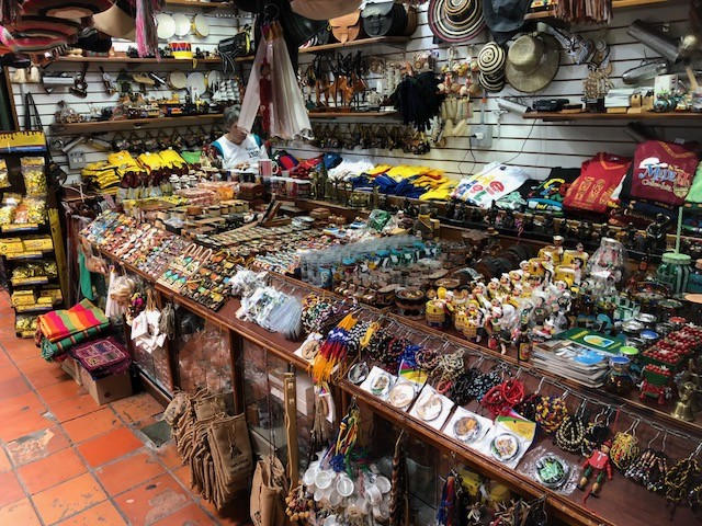 Beautiful hand-crafted souvenirs are found all over the city at affordable prices