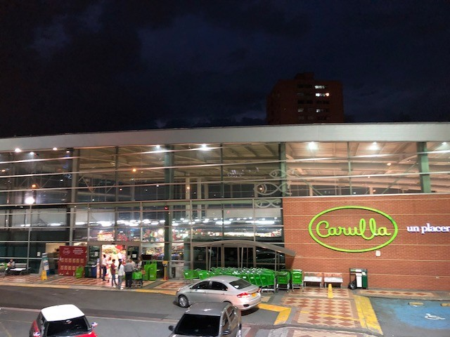 Carulla is one of the city's best supermarkets.